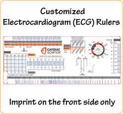 Custom ECG Rulers