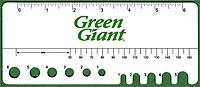 Green Giant Pea Gauge