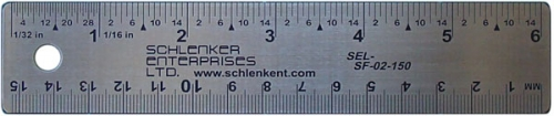 SF-02 Flexible Stainless Steel Rulers