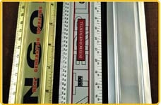 Customized Aluminum Rulers