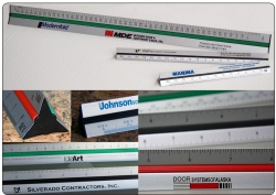 custom triangular rulers