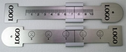 Customized Stainless Steel VAS Rulers