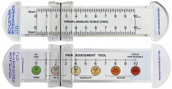 VAS Pain Scale Rulers 0-10 cm w/ Slider