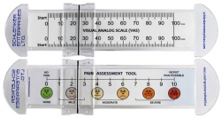 VAS Pain Scale Rulers 0-100mm w/ Slider