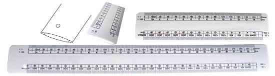 ABS ruler